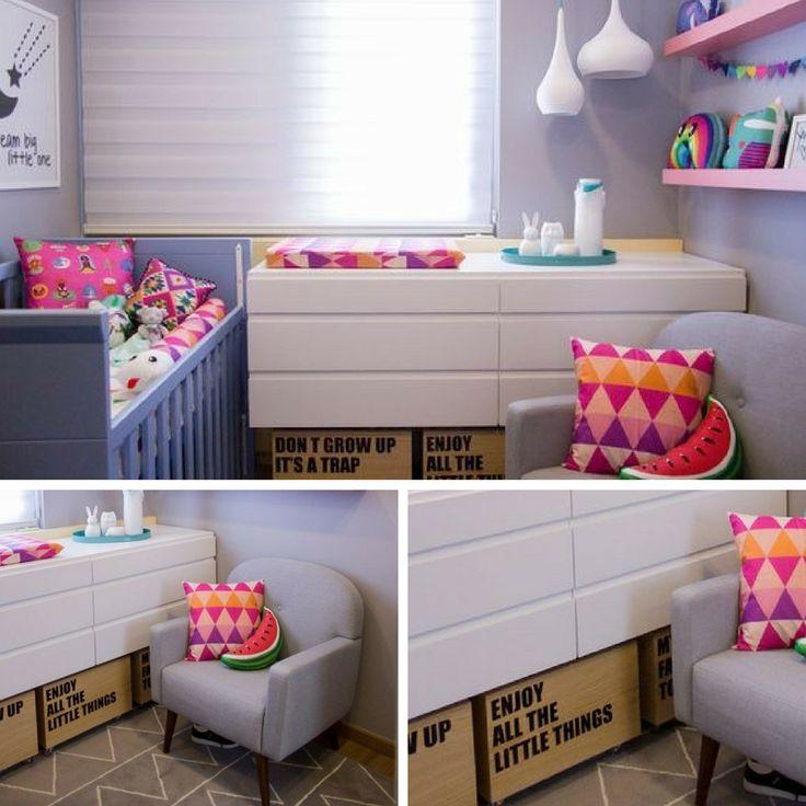 Ideias de lindas cômodas para o quarto do seu bebê - Grávidas e Antenadas