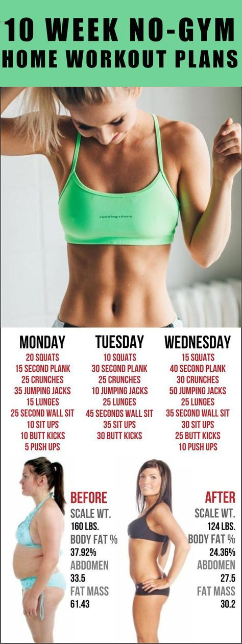Best 25+ Gym weekly workout plan ideas on Pinterest Full body - weekly exercise plans