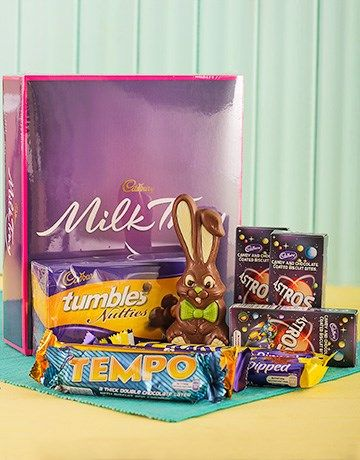 46 best easter eggs and gift hampers images on pinterest easter cadbury easter hamper negle Images