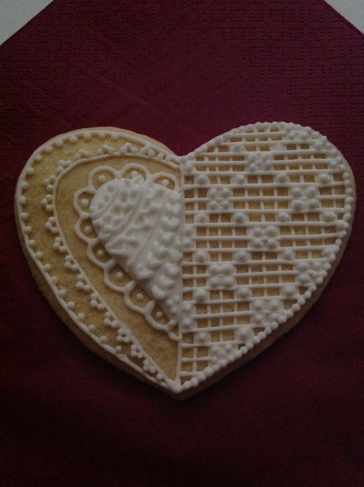Wedding sugar cookies. Two different models in one for practising.