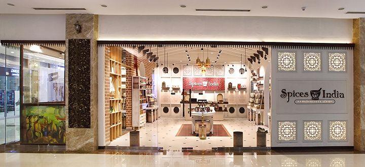 Необыкновенный дизайн магазина специй в индийском стиле