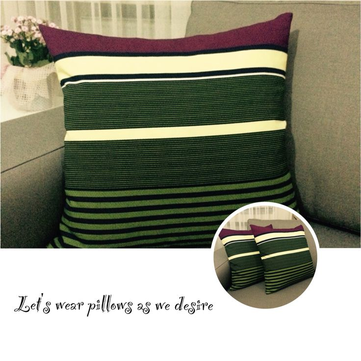 Colorful pillow, very comfortable
