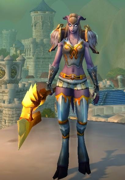 Barla's Corner: Update of one of my favorite Paladin transmogs.
