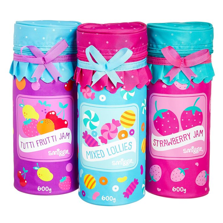 Image for Jam Jar Pencil Case from Smiggle I bought the Strawberry jam one  - @thaminaaktar