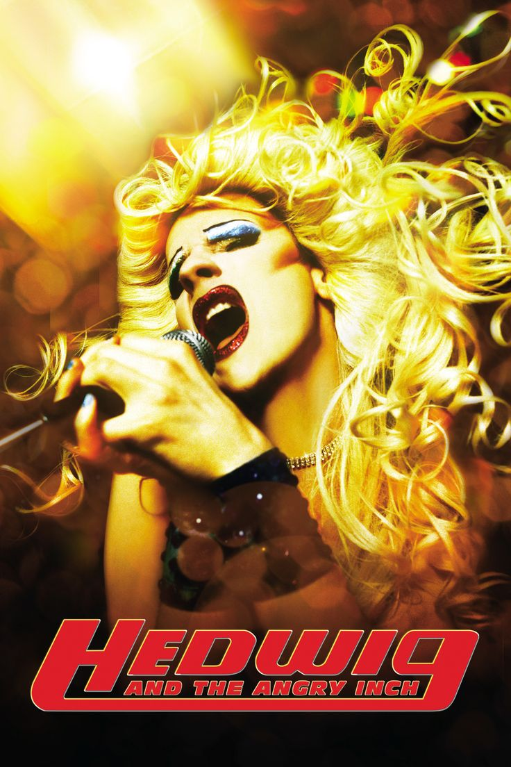 Hedwig and the Angry Inch Movie Poster - John Cameron Mitchell, Michael Pitt, Miriam Shor  #HedwigAndTheAngryInch, #JohnCameronMitchell, #MichaelPitt, #MiriamShor, #Comedy, #Art, #Film, #Movie, #Poster