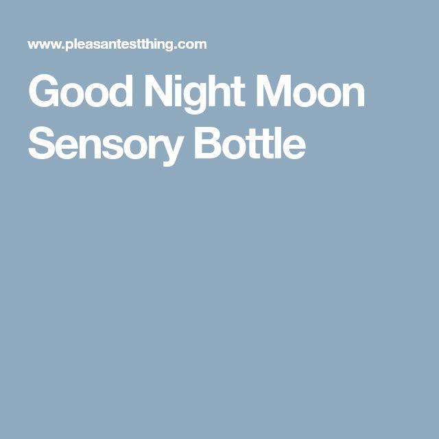 Good Night Moon Sensory Bottle