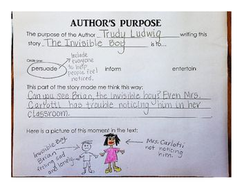 Worksheets Authors Purpose Worksheets 17 best ideas about authors purpose worksheet on pinterest worksheet