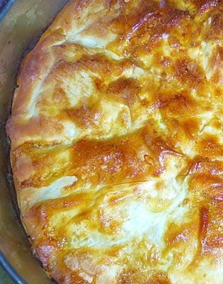 cheese pie-Τυρόπιτα