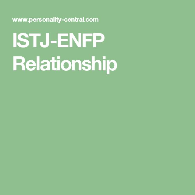 istj and intj dating struggles