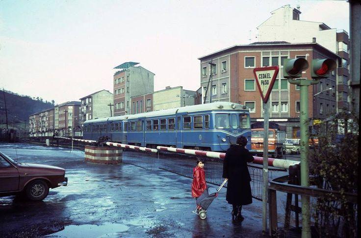 FEVE railways (Spain). 1980.