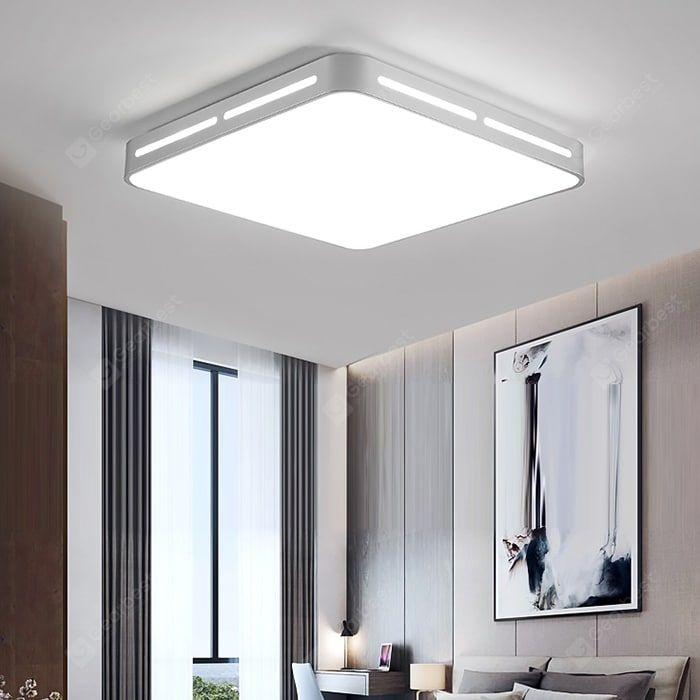 Buy Bx5045 Led Ceiling Lamp Modern Minimalist Living Room Light Rectangular Restaurant Bedroom Lightin Ceiling Lights Square Ceiling Lights Round Ceiling Light