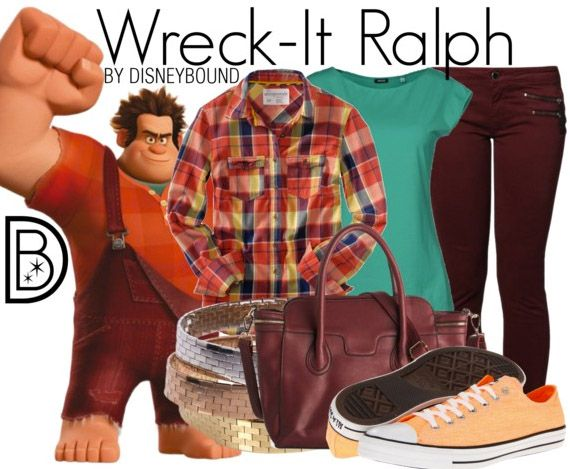Wreck havoc in your Wreck-It Ralph inspired outfit. | Disney Fashion | DisneyFashion Outfits | Disney Outfits | Disney Outfits Ideas | Disneybound Outfits |