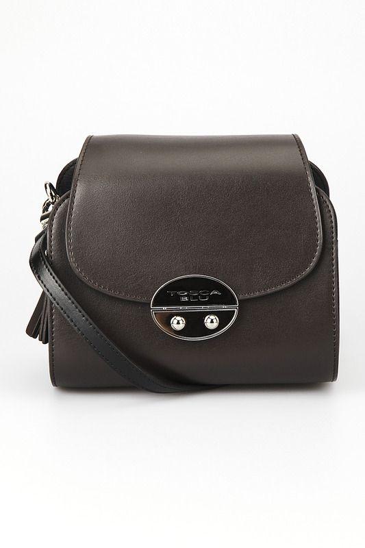 Купить Сумка Tosca Blu TF1317B45_60G DARK BROWN AND BLACK со скидкой в интернет-магазине kupivip.ru - распродажа