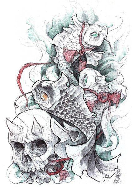 More koi fish designs. #tattoo #tattoos #ink