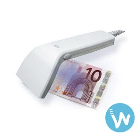 La douchette Glancetron 2010 KB wedge a une double fonction: lecteur code barre et détecteur de faux billets |Excellent rapport qualité prix sur Waapos.com !