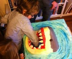 My sonBen is crazy about wildlife and his favourite TV show is Deadly 60 with Steve Backshall, so a Great White Shark was the perfect specimen for hi...