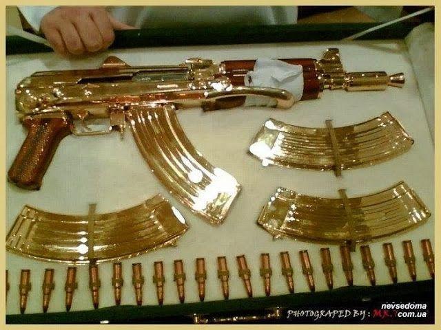 Armas de ouro