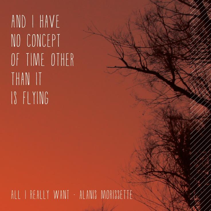 ALANIS MORISSETTE - ALL I REALLY WANT LYRICS