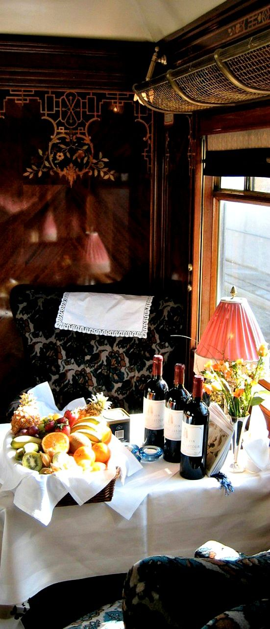 Travelling in style - Orient Express