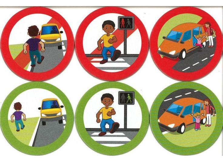 liste de sites proposée par le Scéren pour travailler l'éducation routière en maternelle