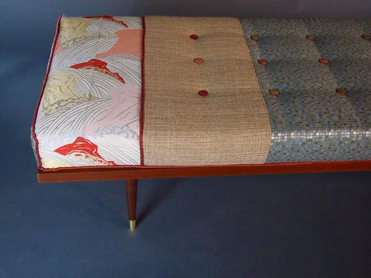 Midcentury Daybed with Vintage Obi 4