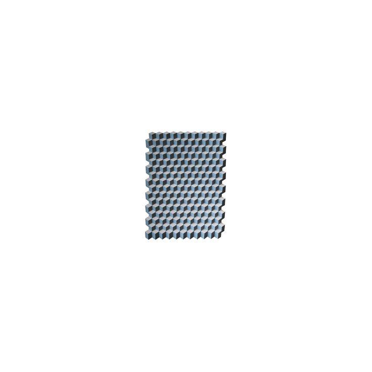 May Time Marketing Ltd - Tumbling Block 3D Wall Art Blue - material