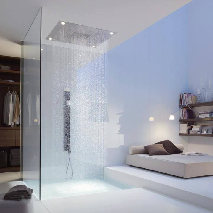 hansgrohe bathtub shower. the living environment of future - axor starck bathroom design for hansgrohe imagine literally rolling out bed into shower. bathtub shower o