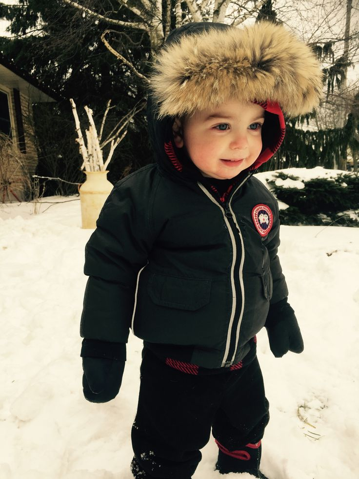 Canada Goose Kids Collection X Snowy Play Time Kids