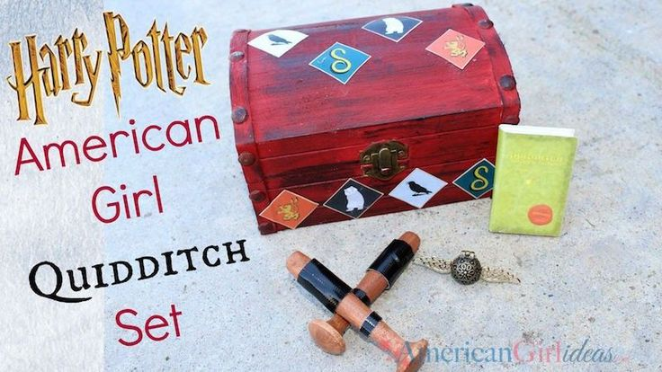 How to Make an American Girl Quidditch set