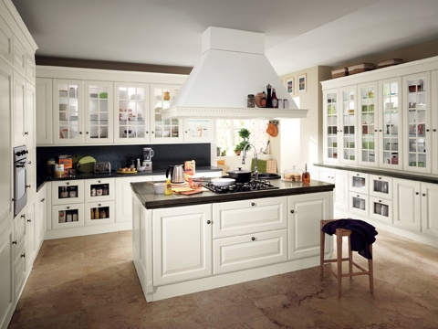 New classic for a contemporary home   #Scavolini