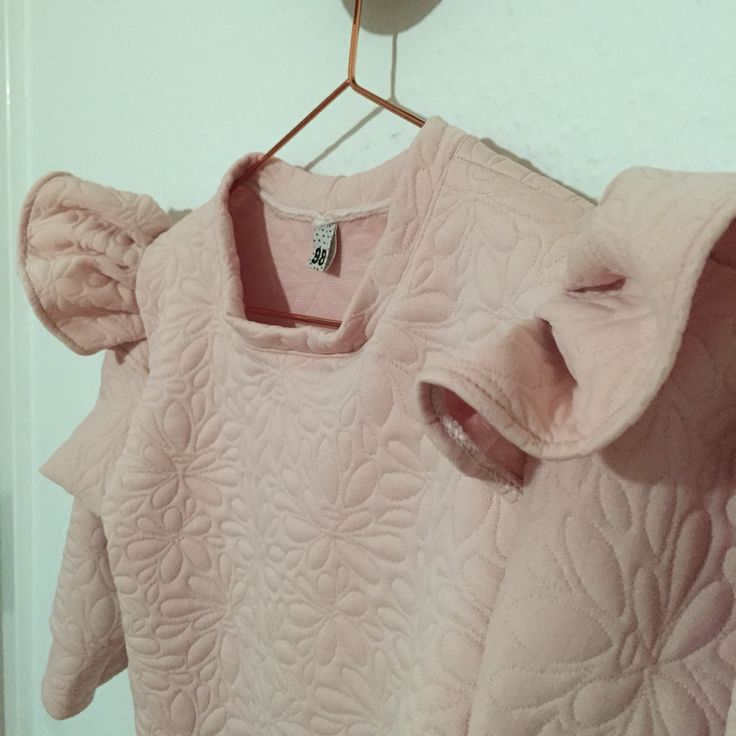 Sweatshirt med pufærmer