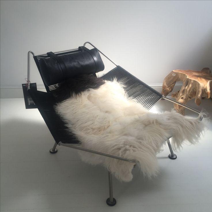 "The Flag Halyard chair , by Hans Wegner   ""Atelier Anda Roman"" design concept store | Bucharest"