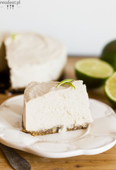 Lime cashew cheesecake with no sugar :: readeat.pl