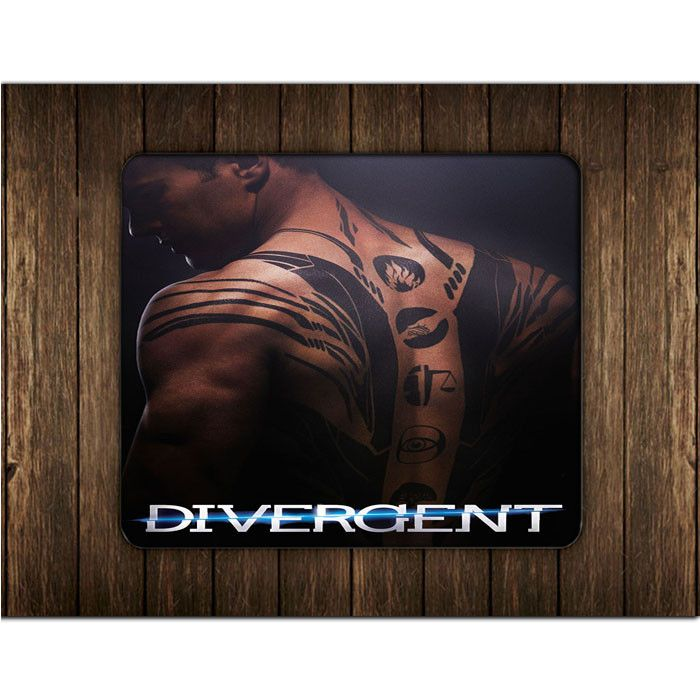 DIVERGENT MOVIE POSTER MOUSE PADS