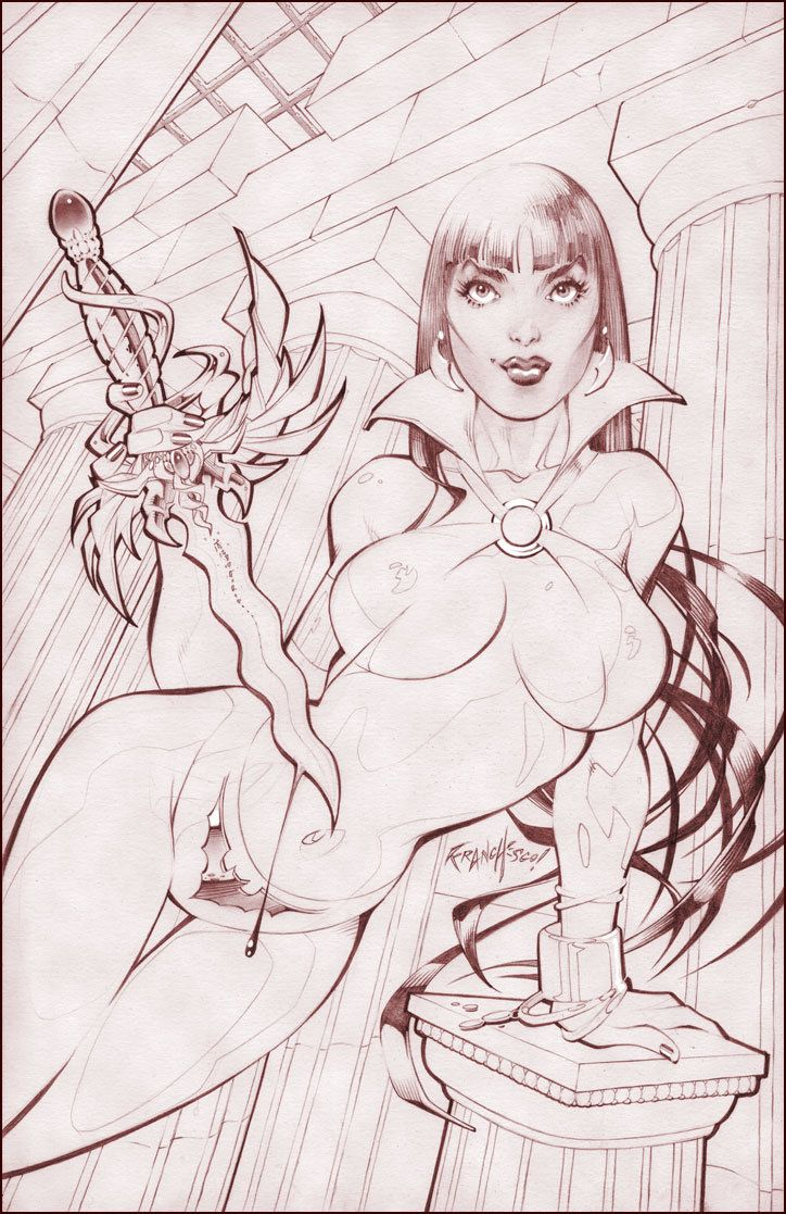 Cover-Art for the very fine folks, at Zenescope! Graphite on Bristol, with digital bits! Much as I would love to thank you individually... Please allow me to thank you in advance, for the flavorful...