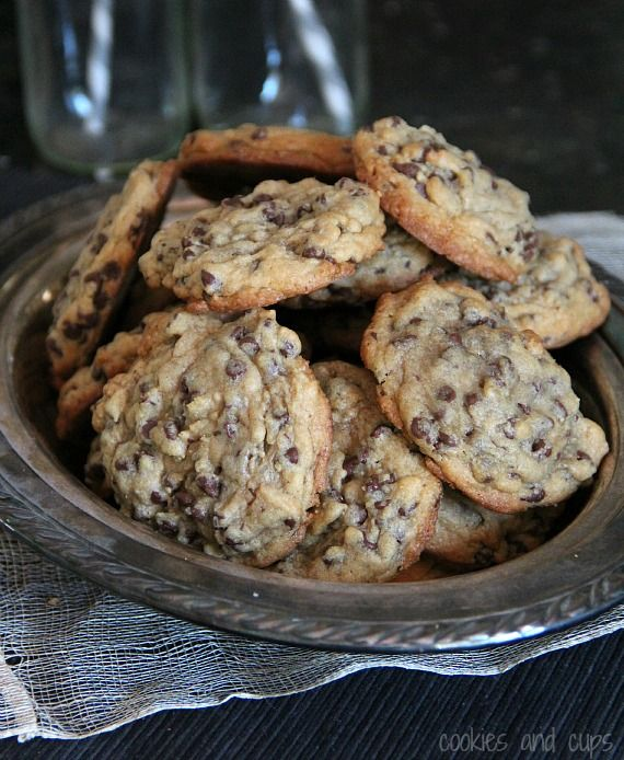 Chocolate Chip Cookies with mini chips