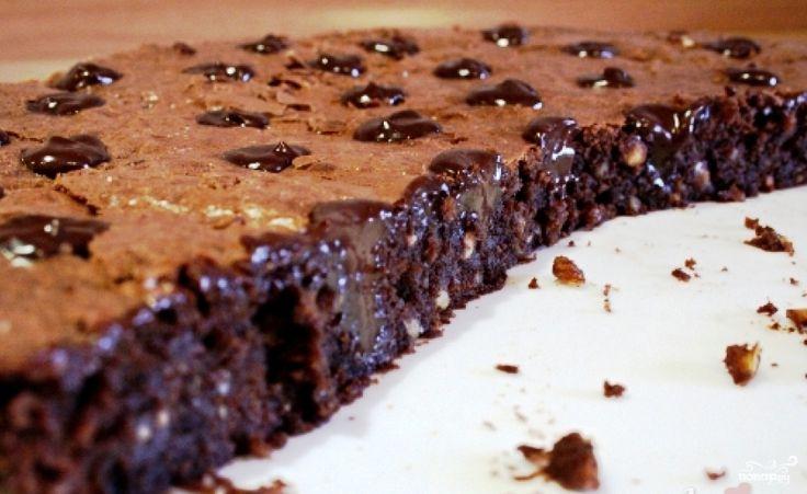 """Торт """"Брауни"""" - фото шаг 15"""