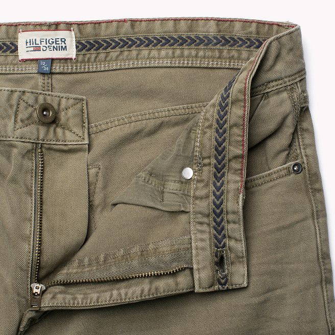 Hilfiger Denim Steve Slim Fit Pant - mermaid-pt (Brown) - Hilfiger Denim Trousers - detail image 3