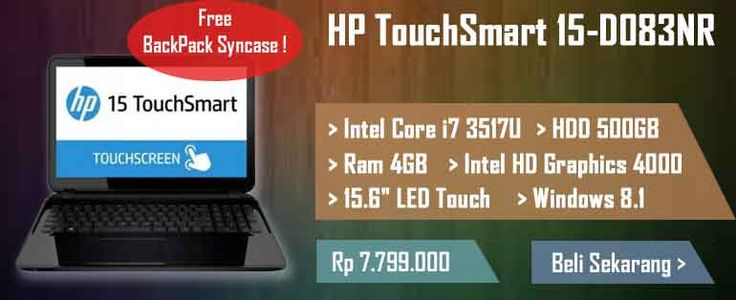 Fast Performance dan Touchscreen HP TouchSmart 15-d083nr Available Now !! --> http://ow.ly/Fw2RI