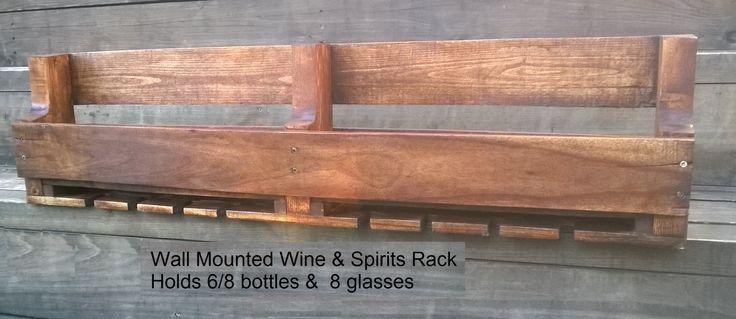 Wine and Spirits Rack