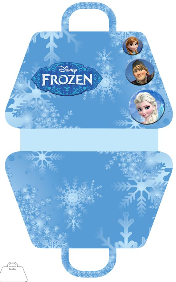 FREE Frozen Party Favor Gift Bag