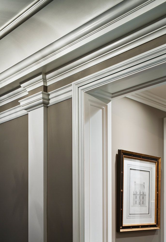 Moulding Detail - John B. Murray Architect