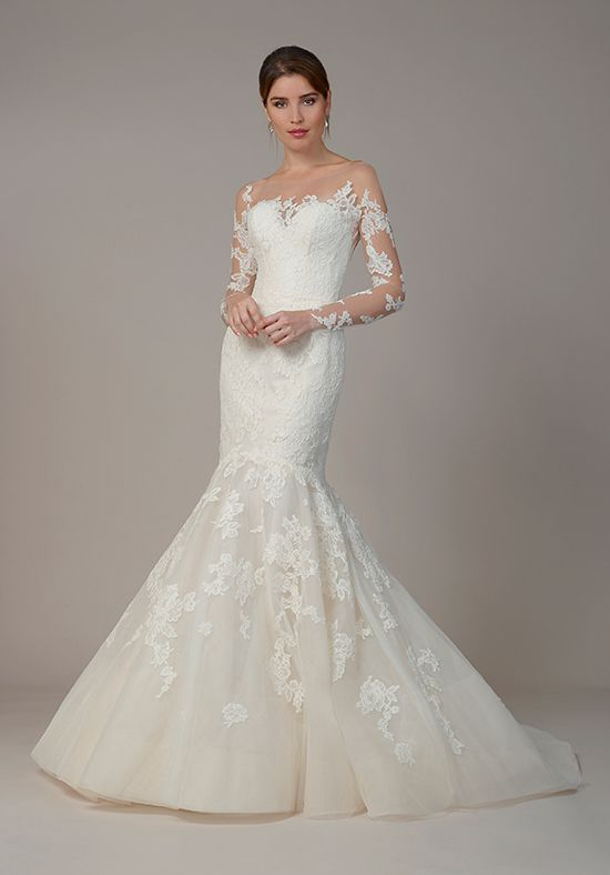 Long Sleeve Winter Mermaid Wedding Gownwedding Dresswinter Gownlong Dress By Liancarloliancarlo Bridal