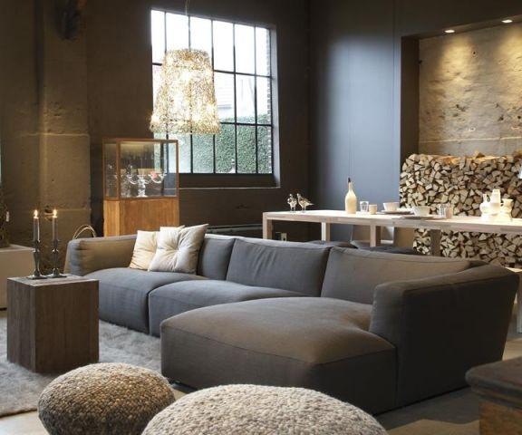 17 meilleures images propos de salon design sur pinterest salons modernes galeries et salons - Deco stijl chalet ...