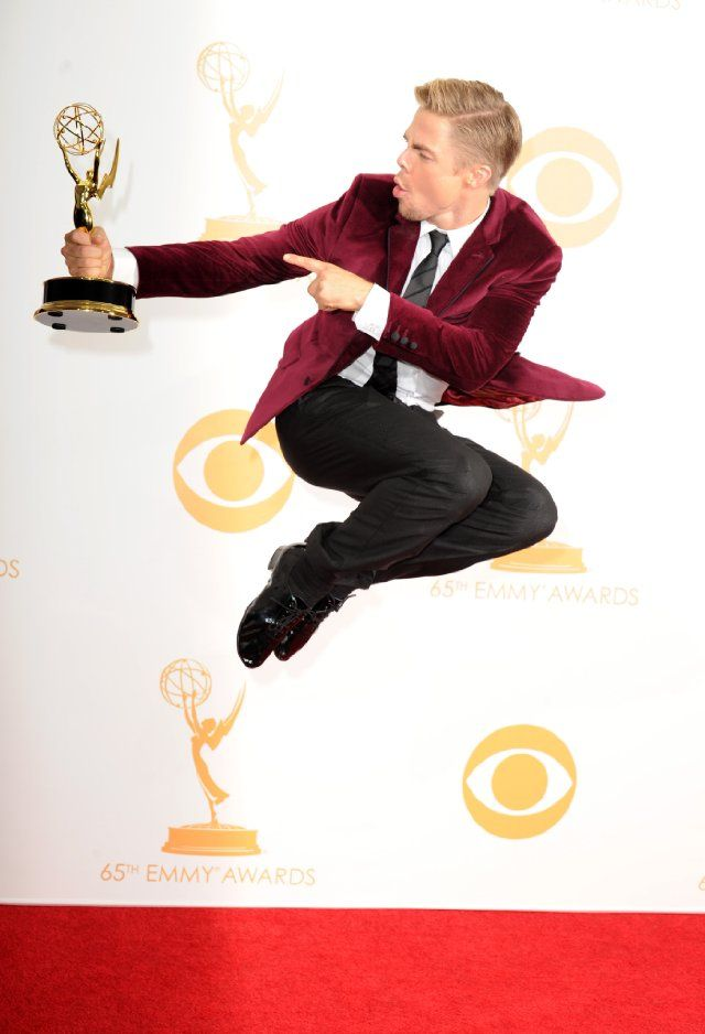 Derek Hough: amazing dancer, fantastically creative choreographer; I love pretty much everything he does!