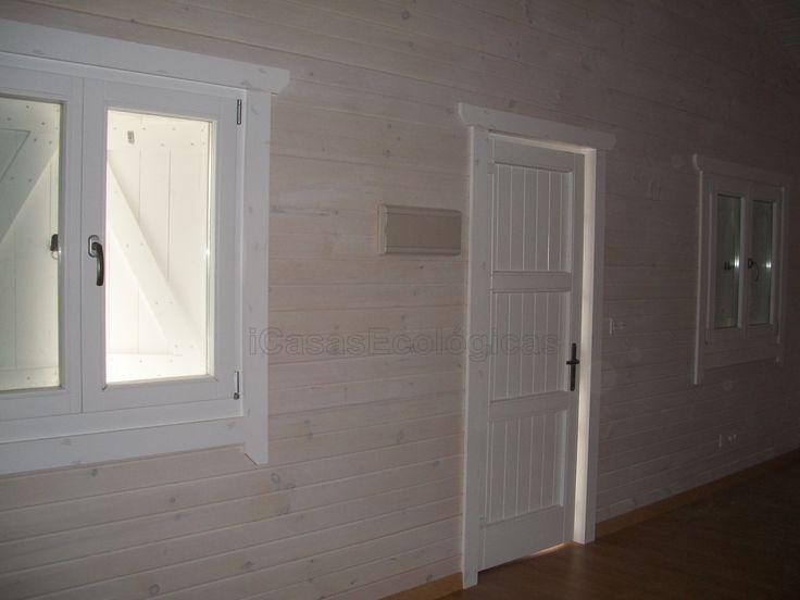 M s de 1000 ideas sobre paredes de madera de acabado en - Pintar paredes blancas ...
