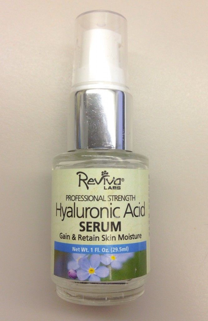 Reviva Labs Hyaluronic Acid Serum via @Kim Porter