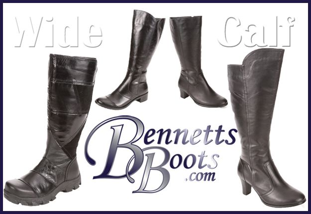wide calf boots - competition