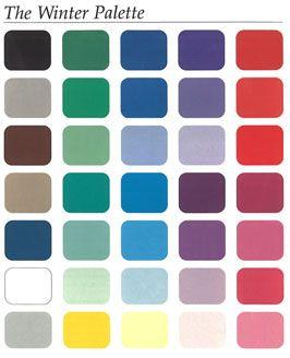 Best 25+ Winter color palettes ideas on Pinterest