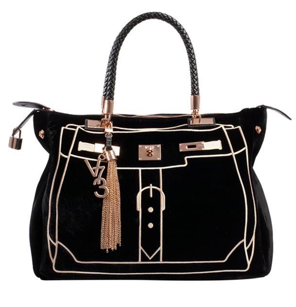 V73 Velvet Bag Black http://www.v73.us/luxury-velvet/134-velvet-bag-black #v73 #velvet #bag #black